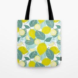 Lemons and Slices Tote Bag