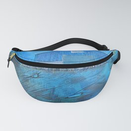 NYC East River Waterway Environment Fanny Pack