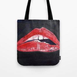 Rocky Horror Sexy Lips Tote Bag