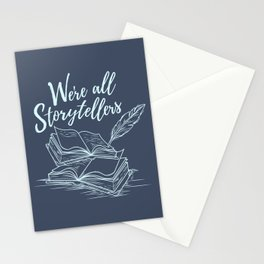 We're All Storytellers Stationery Cards