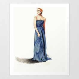 Grace Kelly, 1955 Art Print