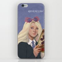 luna lovegood iPhone & iPod Skins featuring luna lovegood by Sara Meseguer