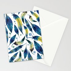 Falling Feathers Stationery Cards