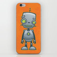 Silly Robot iPhone & iPod Skin