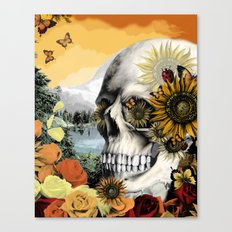 Reflections of Halloween Canvas Print