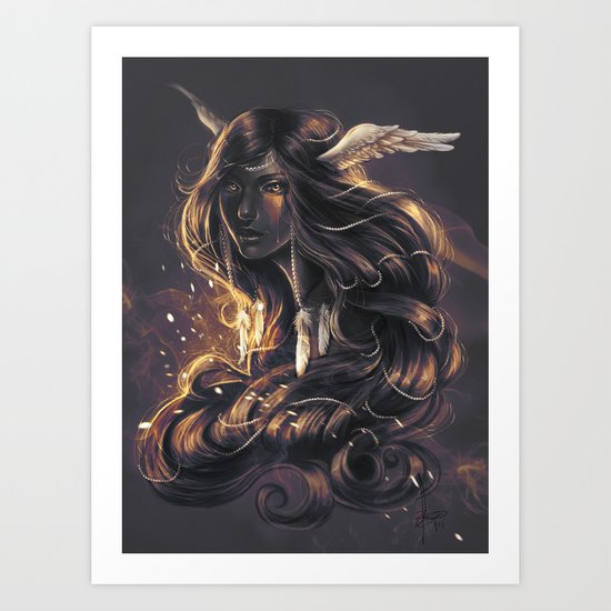 wind and Fire Art Print