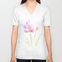 Saffron Unisex V-Neck