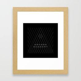 Arcana Academy - Triangular Framed Art Print