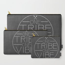 one TRIBE one VIBE plain Carry-All Pouch