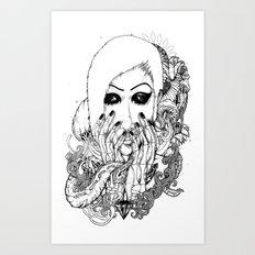 goth love Art Print