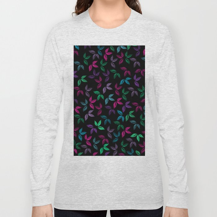 Flower Pattern X Long Sleeve T-shirt