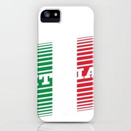 Proud Italian - Italia Racing Team Style iPhone Case