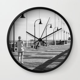 Movement is life Wall Clock