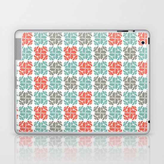 Block Print Geo Laptop & iPad Skin