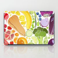 fitzgerald iPad Cases featuring Eat Well by Emma Fitzgerald