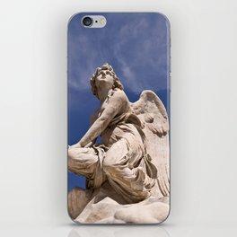 WHITE ANGEL of Sicily iPhone Skin