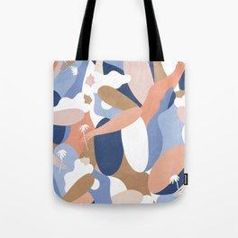 Depiction Of Self Love (blue) Tote Bag