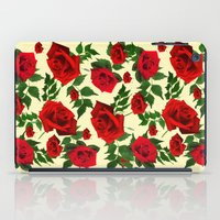 roses iPad Cases featuring roses  by mark ashkenazi