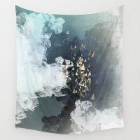 flight Wall Tapestries featuring flight by Rafael Igualada
