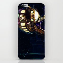 Cat Bus is In Your Town! Miyazaki Tribute Digital Fan Painting iPhone Skin