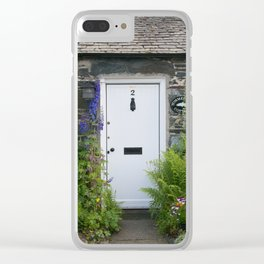 Cottage Entryway Clear iPhone Case