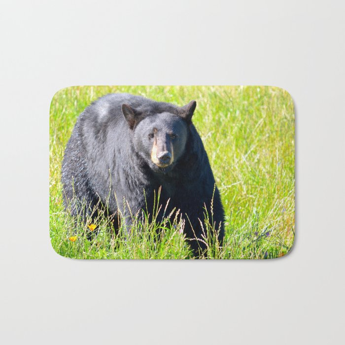 Alaskan Black Bear II Bath Mat