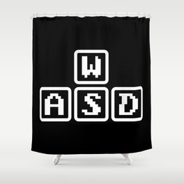 WASD Shower Curtain