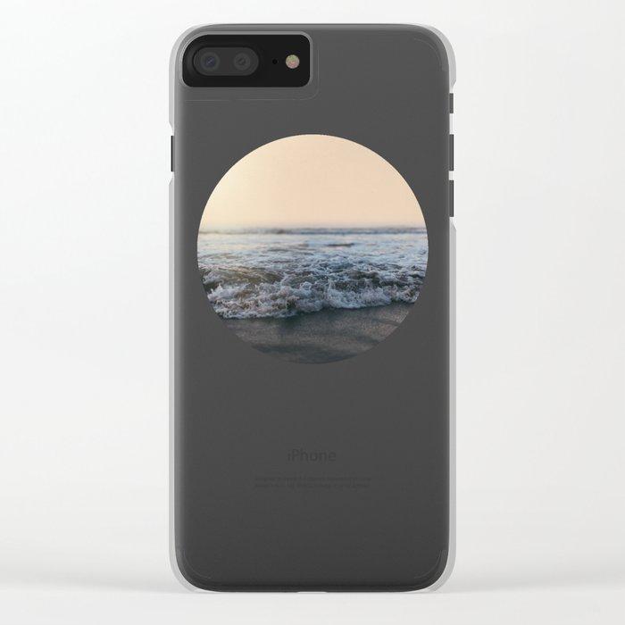 Sunrise Ocean Clear iPhone Case