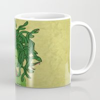 medusa Mugs featuring Medusa by TheAsmek