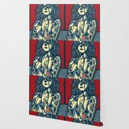 Rubino Cat Woman Wallpaper