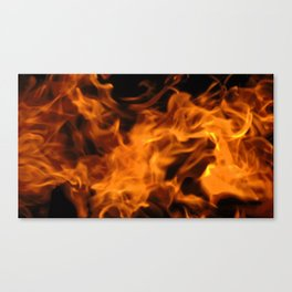 Woodfire Canvas Print