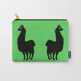 Angry Animals: llama Carry-All Pouch