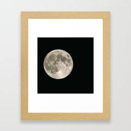 June Full Moon Collection 3 Framed Art Print