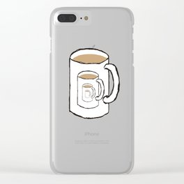 Existential Mug Clear iPhone Case