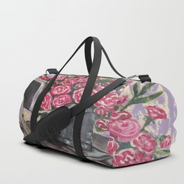 """Still Life """"Roses"""" Duffle Bag"""