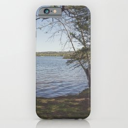 Inks Lake View iPhone Case