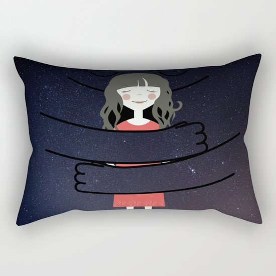 The Universe loves You Rectangular Pillow