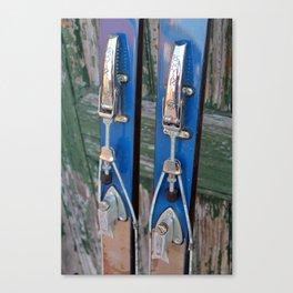 Ski Bindings Canvas Print