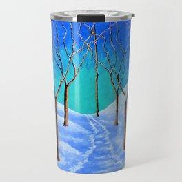 Winter Woods Travel Mug