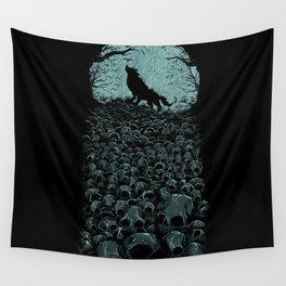 Midnight Hunter Wall Tapestry