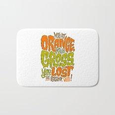 He's Orange, He's Gross, He Lost the Popular Vote Bath Mat