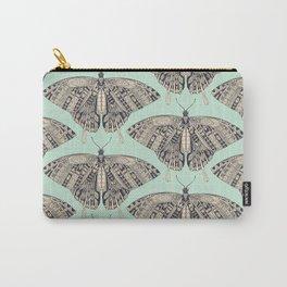swallowtail butterfly mint basalt Carry-All Pouch