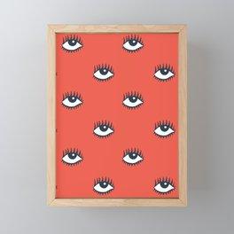 EYES POP Framed Mini Art Print
