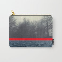 unrelated - seascape and forest conversation Carry-All Pouch