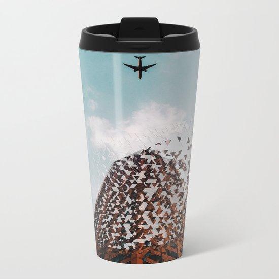 End of civilization Metal Travel Mug