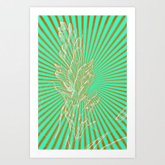 In the Sunbeams Art Print