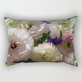 Annas Flowers I Rectangular Pillow