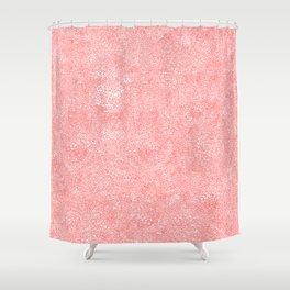 blizard of hearts Shower Curtain