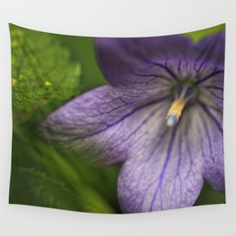 Purple Floral Sensuality Wall Tapestry