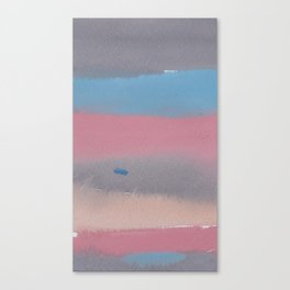 11   1903011 Watercolour Abstract Painting   Muted Colours Canvas Print